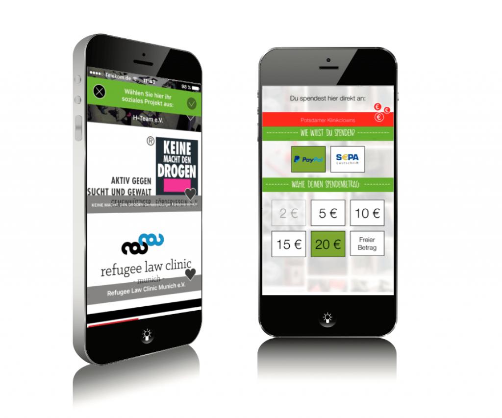 Swop App Screen 2