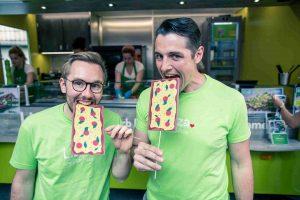 Die Lizzaboys: Marc (Links) und Matthias. © Lizza
