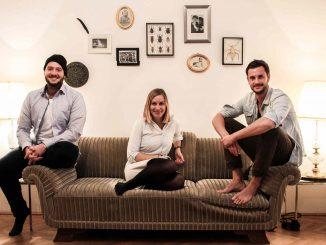 (Von Links) Markus, Hannah und David von CO2mpensio ©CO2mpensio