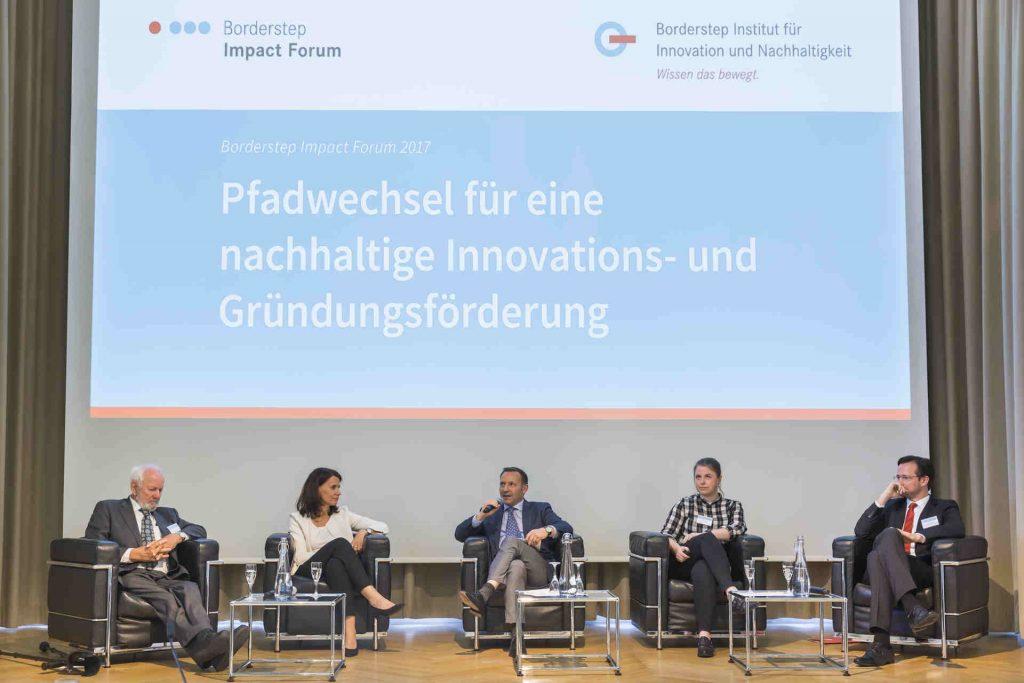 Podiumsdiskussion Borderstep Impact Forum 2017 © Rolf Schulten