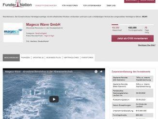Screenshot der Kampagne auf FunderNation