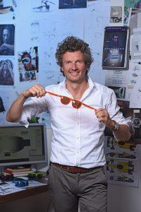 Christoph Egger mit seiner ©gloryfy Brille