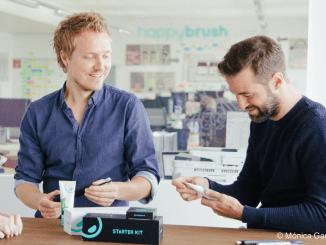 Die Gründer von ©happybrush Stefan Walter und Florian Kiener