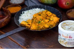 Leckeres Curry mit ©VeggiePur