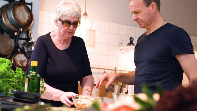 Frau Poppe und Thomas Leiendecker