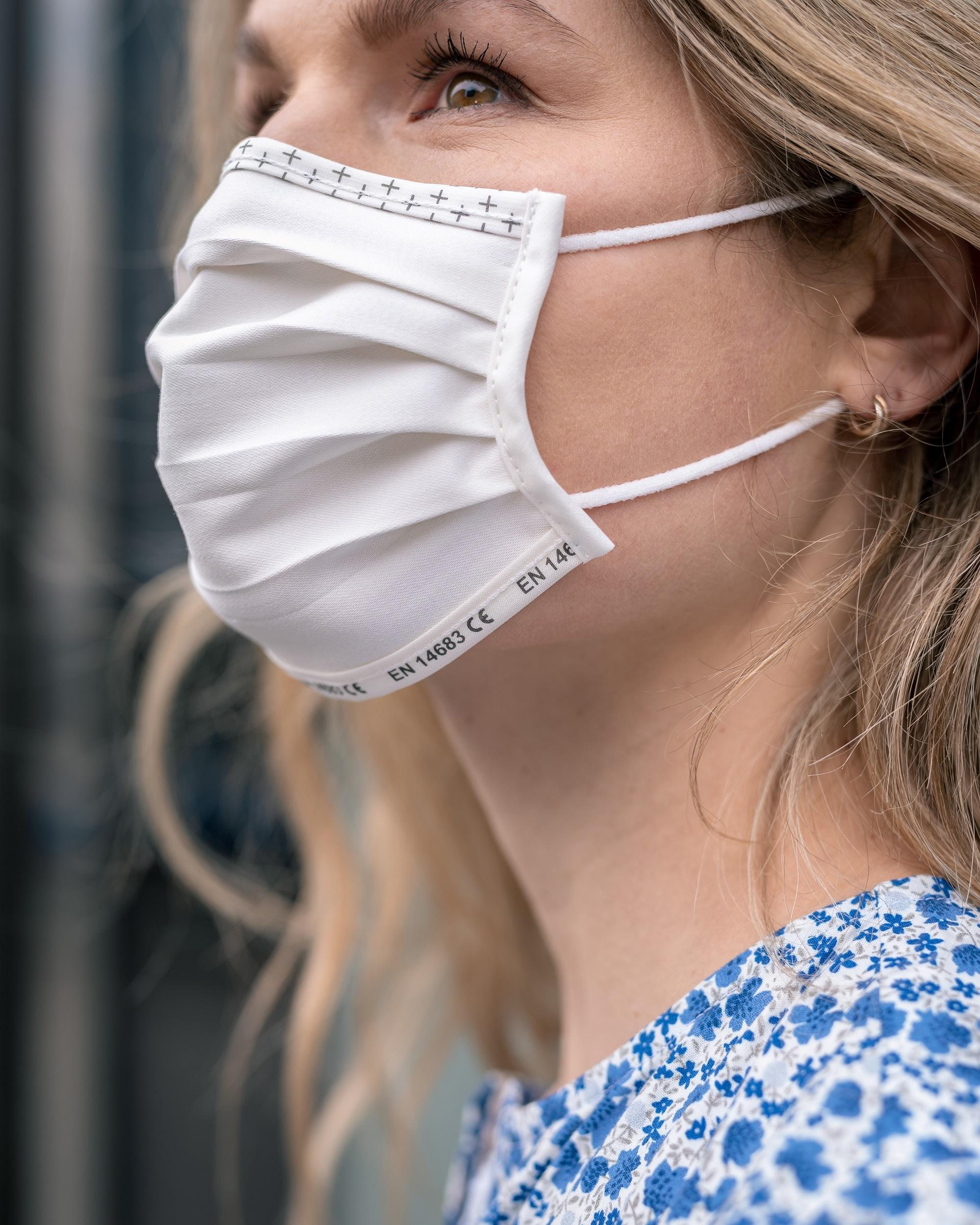 Die Masken von ISKO Vital+™ sind sicher und nachhaltig.