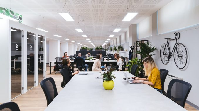 Coworking-Büro